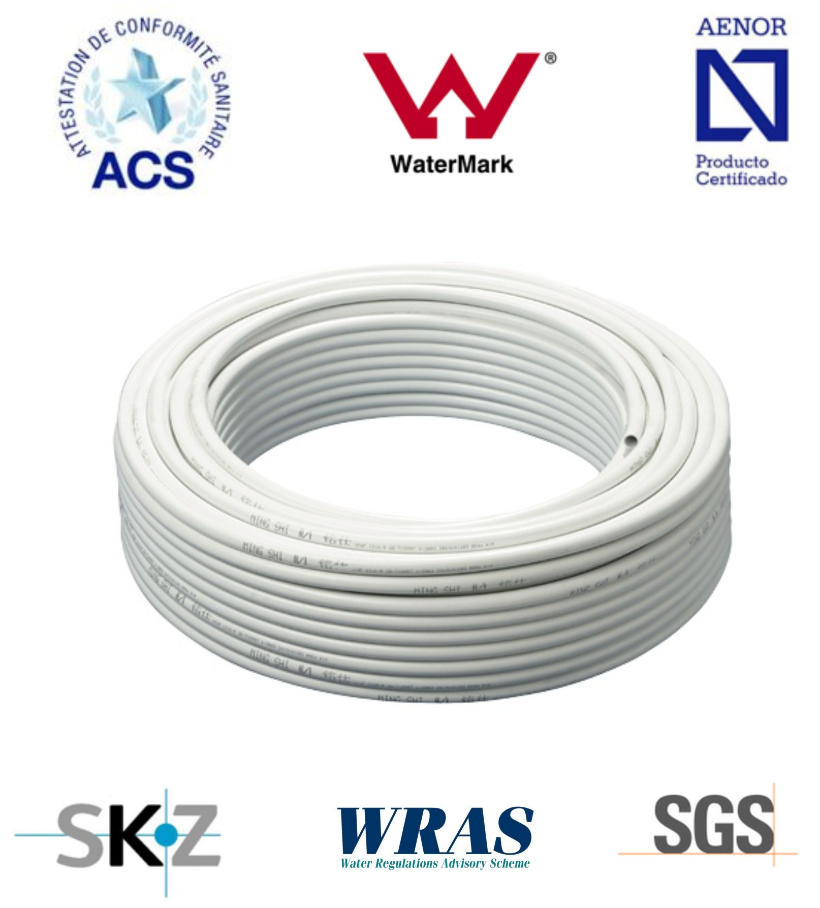 Pex al pex pipe for hot water overlapped china cixi for Pex for hot water