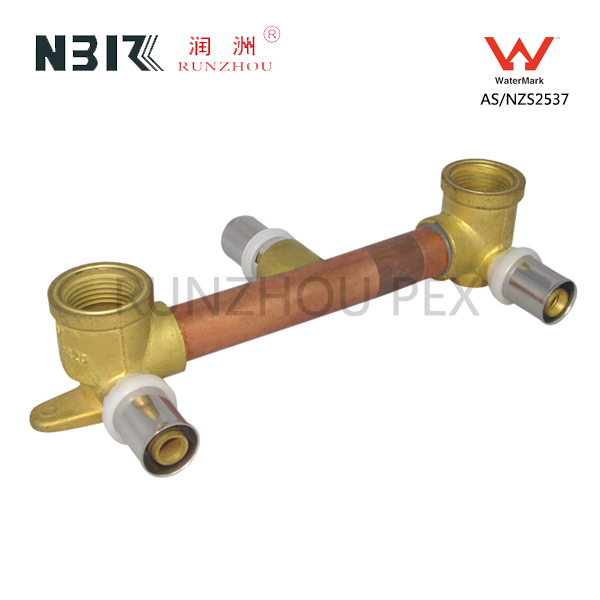 factory customized Brass Fittings Plumbing - 15BP lugged Elbow